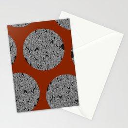 Leaf Dots (multiples) Stationery Cards