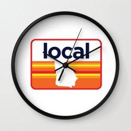 Georgia Local Wall Clock