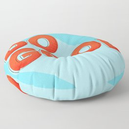 DO GOOD - positive type Floor Pillow