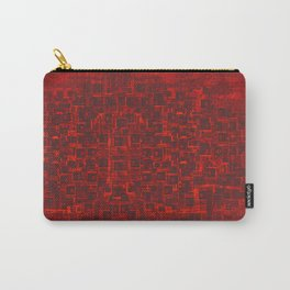 Adventure Black on Red Carry-All Pouch
