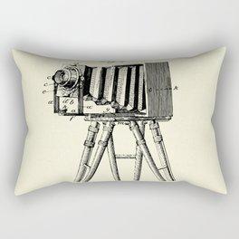 Photographic Camera-1885 Rectangular Pillow