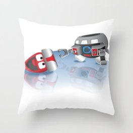OLAFINCENT Olaf V.I.N. CENT Mashup Character Throw Pillow
