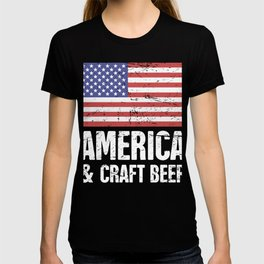 America And Craft Beer T-shirt