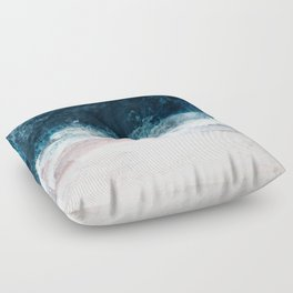 Blue Sea II Floor Pillow