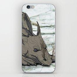 Grey Dragon iPhone Skin