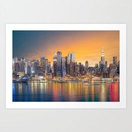 New York 06 - USA Art Print