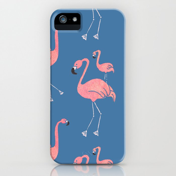 Flamingo Pattern iPhone Case