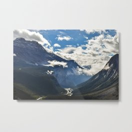 Early Morning Icefields Parkway Metal Print