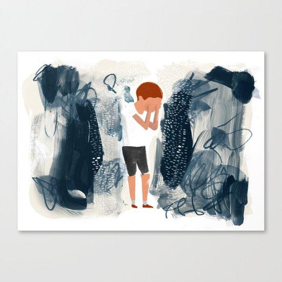 Toxic Stress Canvas Print