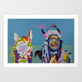 GRAYEAGLE Art Print