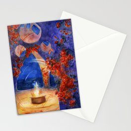 The place of witchcraft Stationery Cards