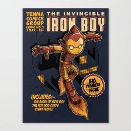 THE INVINCIBLE IRON BOY Canvas Print