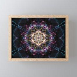 Atom Framed Mini Art Print