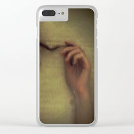 caressed Clear iPhone Case