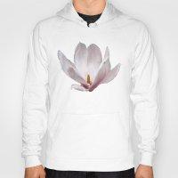 magnolia Hoodies featuring Magnolia by Guna Andersone & Mario Raats - G&M Studi