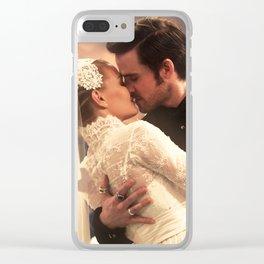 CAPTAIN SWAN WEDDING Clear iPhone Case