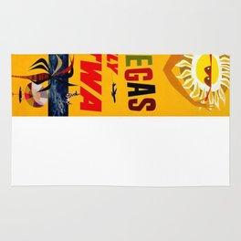 Vintage poster - Las Vegas Rug
