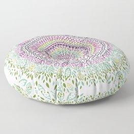 Intricate Spring Floor Pillow