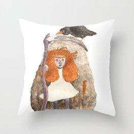 Poludnitsa, The Lady Midday Throw Pillow