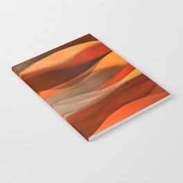 """Sea of sand and caramel waves"" Notebook"