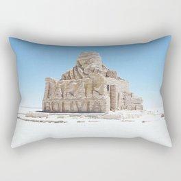 Dakar Rally Bolivia monument Rectangular Pillow