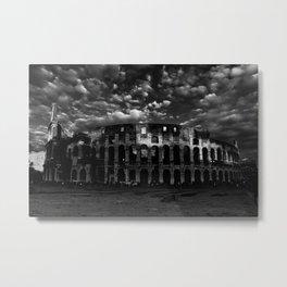 Gladiators in Rome Metal Print
