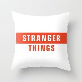 supreme stranger Throw Pillow