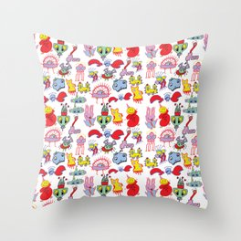 bloob Throw Pillow