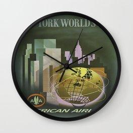 Vintage poster - New York Wall Clock