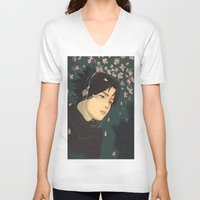 sasuke V-neck T-shirts featuring float by chibikizumi