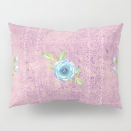 Do All Things With Kindness - floral text print Pillow Sham