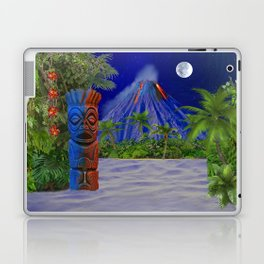 Tiki Art Background Laptop & iPad Skin