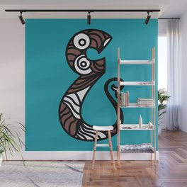 THE CHARM OF LETTER AYIN Wall Mural