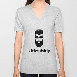 #friendship Unisex V-Neck