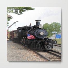 Historic Steam Engine Metal Print