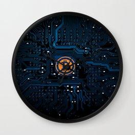 Bitcoin money crypto Wall Clock