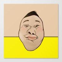 he man Canvas Prints featuring HE HE HE  by RUEI