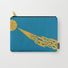 Do You Feel the Thunder? (Blue) Carry-All Pouch