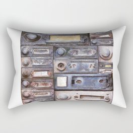 old doorbells Rectangular Pillow