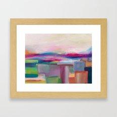 Bright Horizon  Framed Art Print
