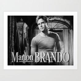 Marlon Brando, 1951 Art Print