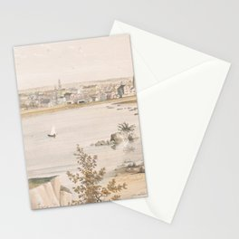 Vintage Pictorial View of Trenton NJ (1851) Stationery Cards