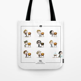 Little Halloween Pumpkin Contest Tote Bag