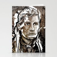 legolas Stationery Cards featuring Legolas by Patrick Scullin