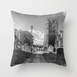 All Saints Church and Collegiate Buildings Throw Pillow