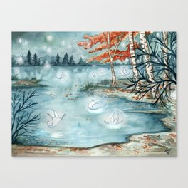 Willow Wisps Canvas Print