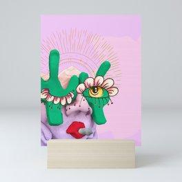Cactus Gal Mini Art Print