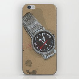 Mondaine Watch - These are the things I use to define myelf iPhone Skin