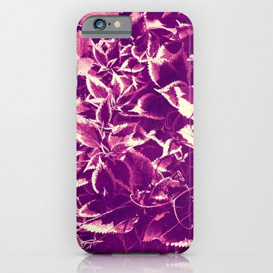 purple leaves iPhone & iPod Case