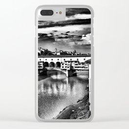 Ponte Vecchio, Florence, Italy Clear iPhone Case